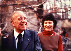 Jorge Luis Borges and Janet Rabinowitch