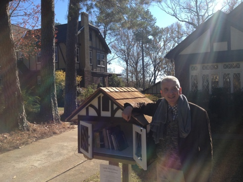Berkery at the Eudora Welty House in Jackson